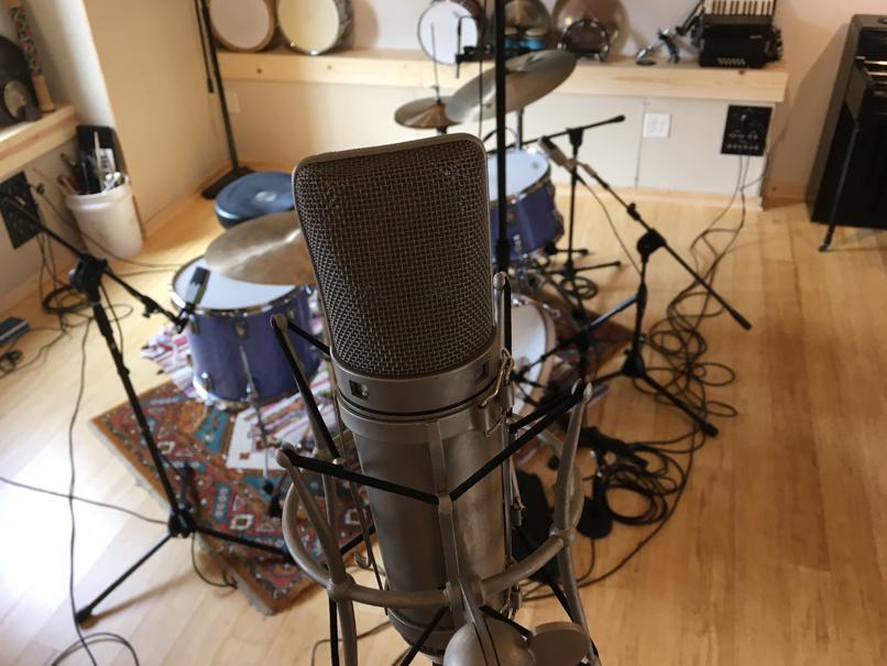 Zeptepland Studios Wichita KS - mic setup